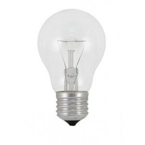 Лампа накаливания ТДМЛампы<br>Тип лампы: накаливания,<br>Форма лампы: груша,<br>Тип цоколя: Е27,<br>Напряжение: 220,<br>Мощность: 95,<br>Цвет свечения: теплый<br>