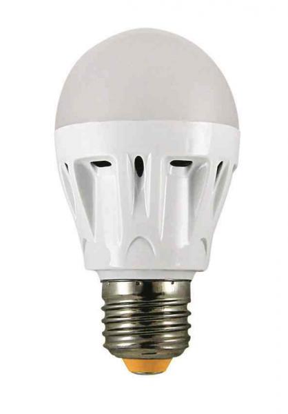 Лампа светодиодная ТДМЛампы<br>Тип лампы: светодиодная,<br>Тип цоколя: Е27,<br>Напряжение: 220,<br>Мощность: 7,<br>Цветовая температура: 6000,<br>Цвет свечения: холодный<br>