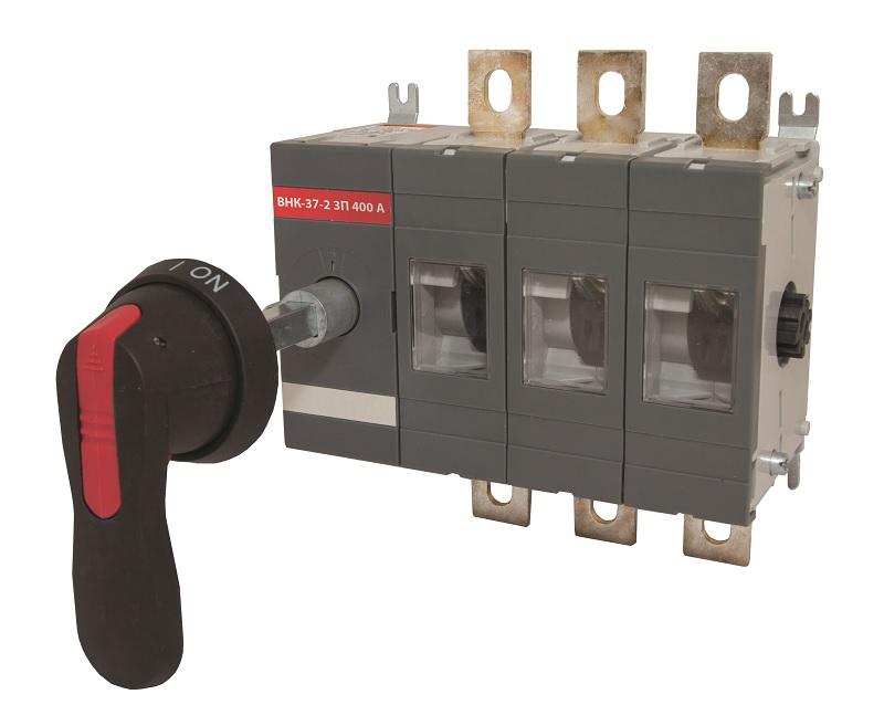 Рубильник ТДМАвтоматические выключатели<br>Номинальный ток: 400, Тип выключателя: рубильник, Количество полюсов: 3<br>