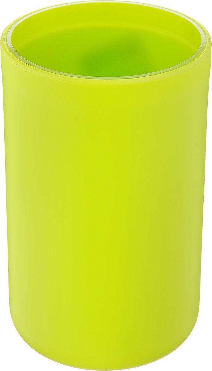 Стакан VanstoreАксессуары для ванной комнаты<br>Назначение аксессуара: стакан,<br>Цвет покрытия: зеленый,<br>Материал: пластик<br>