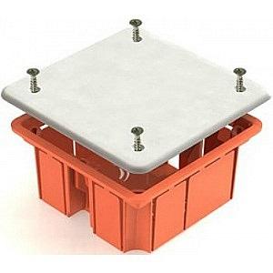 Коробка распаячная ТДМКоробки монтажные<br>Тип монтажного элемента: коробка распаячная,<br>Тип установки коробки: скрытый монтаж,<br>Монтаж в: кирпич/бетон,<br>Длина (мм): 92,<br>Ширина: 92,<br>Высота: 45,<br>Цвет: красный,<br>Степень защиты от пыли и влаги: IP 20<br>