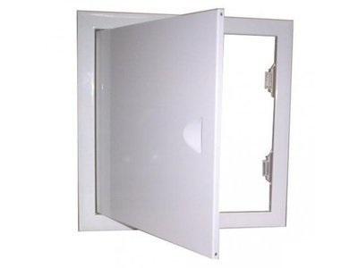 Люк ХАММЕРРевизионные и сантехнические люки<br>Ширина: 400,<br>Высота: 500,<br>Материал: сталь,<br>Метод открывания: распашная дверца,<br>Схема открывания: распашная дверца,<br>Материал петли: сталь,<br>Количество створок: одностворчатый<br>