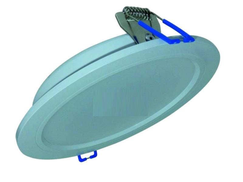 Светильник LeekСветильники встраиваемые<br>Стиль светильника: хай-тек,<br>Форма светильника: круг,<br>Тип лампы: светодиодная,<br>Мощность: 15,<br>Цвет арматуры: белый<br>