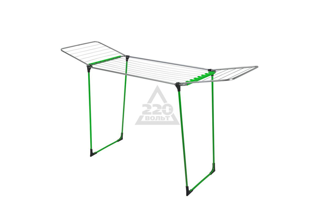Сушилка для одежды Metaltex Fuji neon green