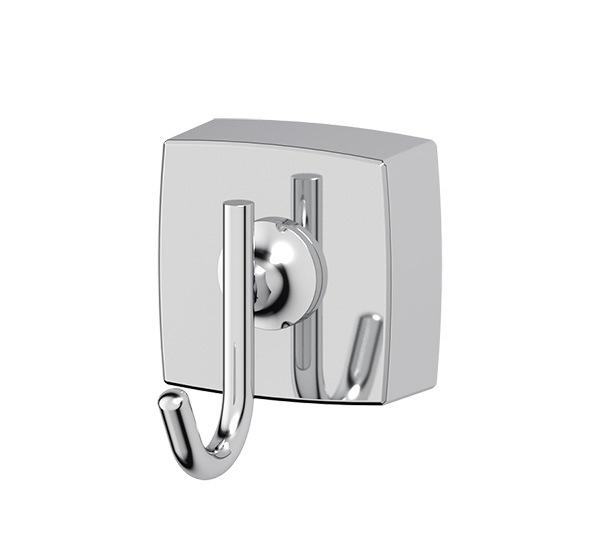 Крючок FbsАксессуары для ванной комнаты<br>Назначение аксессуара: крючок,<br>Цвет покрытия: хром,<br>Материал: металл,<br>Высота: 50,<br>Ширина: 42,<br>Глубина: 55,<br>Способ крепления: на стену<br>