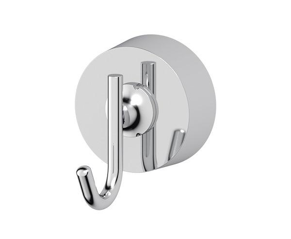 Крючок FbsАксессуары для ванной комнаты<br>Назначение аксессуара: крючок,<br>Цвет покрытия: хром,<br>Материал: металл,<br>Высота: 51,<br>Ширина: 43,<br>Глубина: 55,<br>Способ крепления: на стену<br>