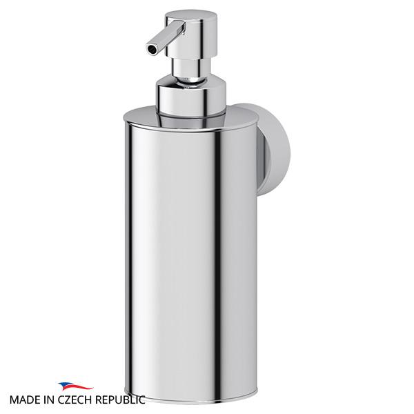 Диспенсер FbsДиспенсеры<br>Назначение: для жидкого мыла,<br>Цвет покрытия: хром,<br>Материал: металл,<br>Высота: 175,<br>Ширина: 62,<br>Глубина: 98,<br>Способ крепления: на стену<br>