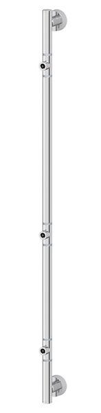 Штанга FbsАксессуары для ванной комнаты<br>Назначение аксессуара: штанга,<br>Цвет покрытия: хром,<br>Материал: металл,<br>Высота: 815,<br>Глубина: 67,<br>Способ крепления: на стену<br>