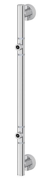 Штанга FbsАксессуары для ванной комнаты<br>Назначение аксессуара: штанга,<br>Цвет покрытия: хром,<br>Материал: металл,<br>Высота: 467,<br>Глубина: 67,<br>Способ крепления: на стену<br>
