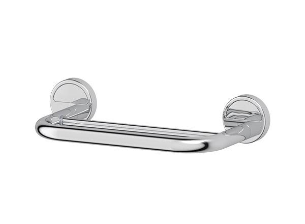 Полотенцедержатель FbsДержатели для ванной комнаты<br>Назначение: для полотенца,<br>Цвет покрытия: хром,<br>Материал: металл,<br>Способ крепления: на стену,<br>Высота: 60,<br>Ширина: 300,<br>Глубина: 132<br>