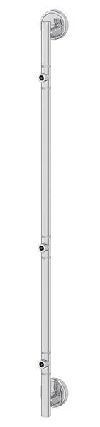 Штанга FbsАксессуары для ванной комнаты<br>Назначение аксессуара: штанга,<br>Цвет покрытия: хром,<br>Материал: металл,<br>Высота: 832,<br>Глубина: 63,<br>Способ крепления: на стену<br>