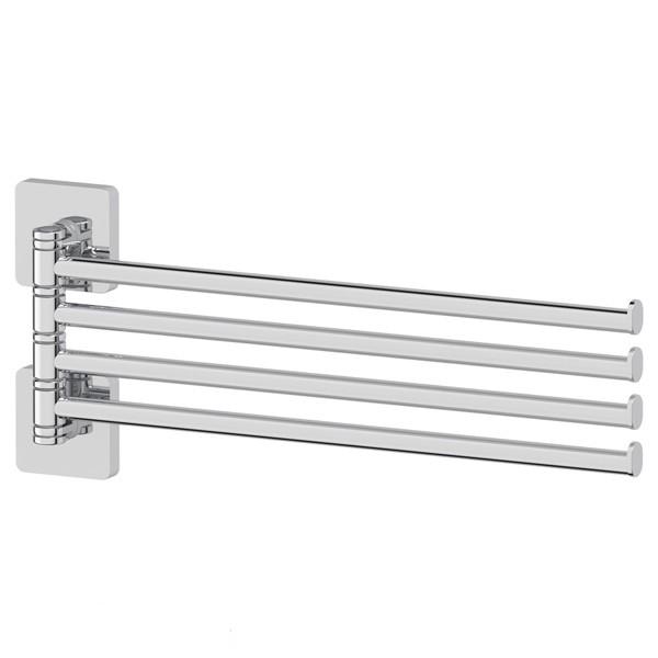 Полотенцедержатель ElluxДержатели для ванной комнаты<br>Назначение: для полотенца,<br>Цвет покрытия: хром,<br>Материал: металл,<br>Способ крепления: на стену,<br>Высота: 157,<br>Ширина: 372,<br>Глубина: 35<br>