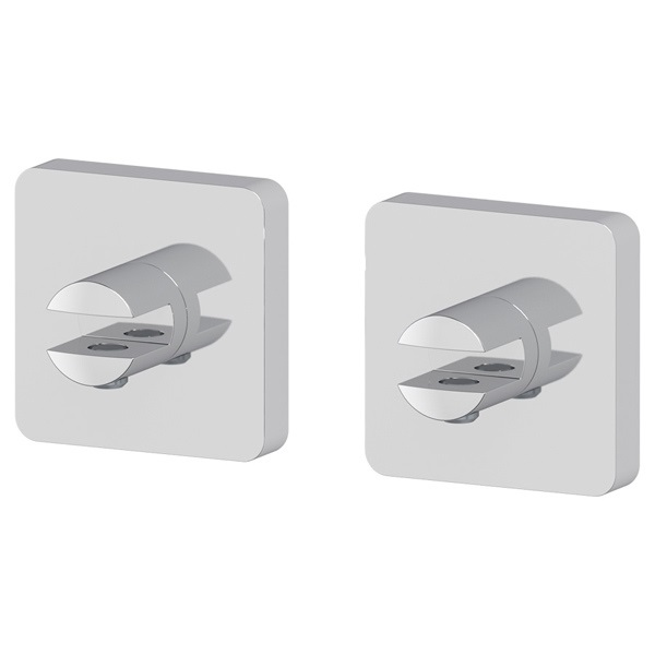 Держатель ElluxДержатели для ванной комнаты<br>Назначение: для полки,<br>Цвет покрытия: хром,<br>Материал: металл,<br>Способ крепления: на стену,<br>Высота: 57,<br>Глубина: 34<br>