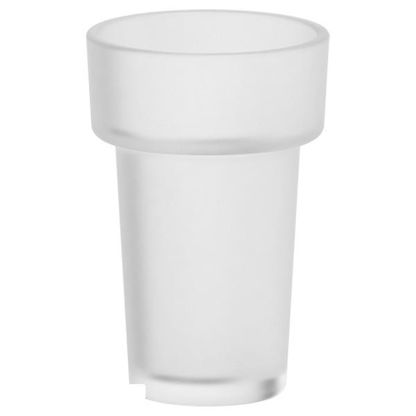 Стакан ElluxАксессуары для ванной комнаты<br>Назначение аксессуара: стакан,<br>Цвет покрытия: стекло матовое,<br>Материал: стекло,<br>Высота: 11.8,<br>Ширина: 7.8,<br>Глубина: 7.8,<br>Способ крепления: на стену<br>