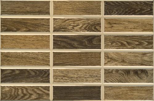 Плитка облицовочная InterceramaКерамическая плитка<br>Коллекция: Madera,<br>Тип: плитка,<br>Место укладки: стены,<br>Назначение плитки: для кухни,<br>Рисунок: дерево,<br>Цвет: светло-коричневый,<br>Поверхность: рельефная, матовая,<br>Размер плитки: 230х350,<br>Толщина: 7.5,<br>Страна происхождения: Украина,<br>Количество в упаковке: 15,<br>м2 в упаковке: 1.2075<br>