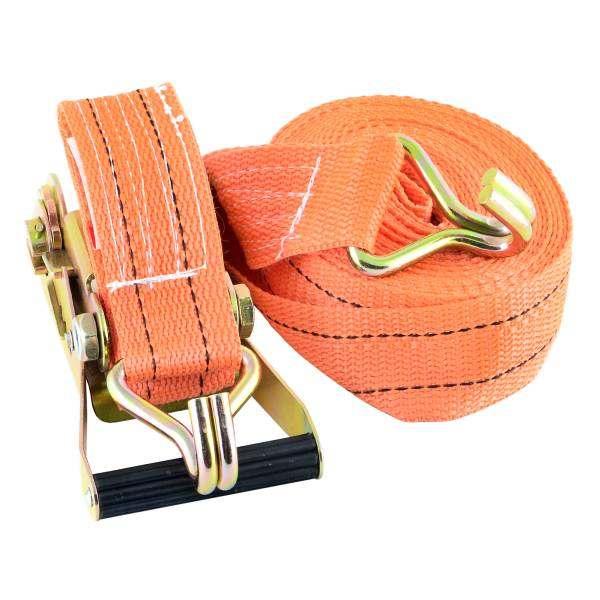Стяжка SkywayКрепления для багажа<br>Тип: ремень,<br>Максимальная нагрузка: 5000,<br>Размеры: 50х10000,<br>Длина (мм): 10000,<br>Ширина: 50,<br>Цвет: оранжевый<br>