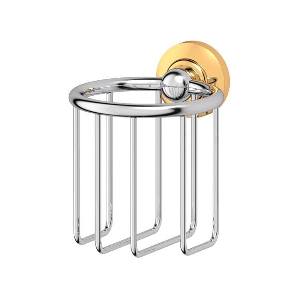 Держатель 3scДержатели для ванной комнаты<br>Назначение: для освежителя воздуха,<br>Цвет покрытия: хром,<br>Материал: металл,<br>Способ крепления: на стену,<br>Высота: 120,<br>Глубина: 119<br>