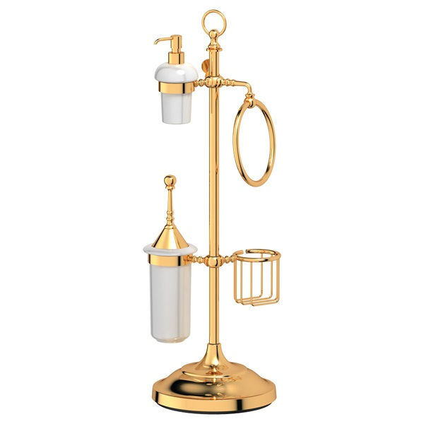Стойка 3scНаборы для ванной комнаты<br>Назначение: стойка,<br>Цвет покрытия: золото,<br>Материал: металл,<br>Способ крепления: на пол,<br>Высота: 792,<br>Ширина: 250,<br>Глубина: 300<br>