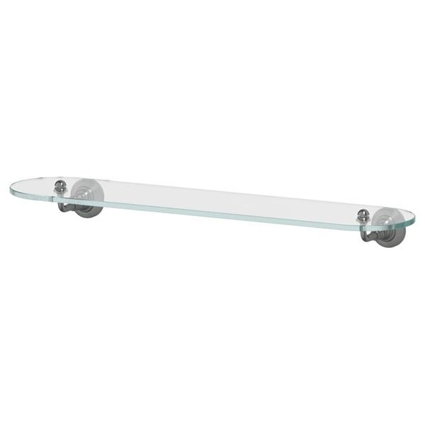 Полка 3scАксессуары для ванной комнаты<br>Назначение аксессуара: полка,<br>Цвет покрытия: серебряный,<br>Материал: металл,<br>Высота: 67,<br>Ширина: 600,<br>Глубина: 154,<br>Способ крепления: на стену<br>