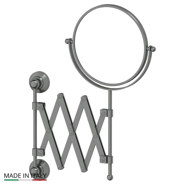 Зеркало 3scЗеркала<br>Высота: 419,<br>Форма зеркала: круг,<br>Назначение: для ванной,<br>Зеркало в раме: есть,<br>Тип рамы: металл,<br>Цвет рамы: серебро<br>