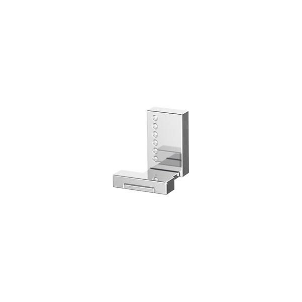Крючок LineagАксессуары для ванной комнаты<br>Назначение аксессуара: крючок,<br>Цвет покрытия: хром,<br>Материал: металл,<br>Высота: 50,<br>Ширина: 45,<br>Глубина: 55,<br>Способ крепления: на стену<br>