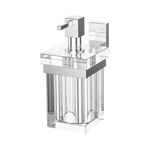 Дозатор для жидкого мыла LineagДиспенсеры<br>Назначение: для жидкого мыла, Цвет покрытия: хром, Материал: металл, Высота: 166, Ширина: 76, Глубина: 139, Способ крепления: на стену<br>