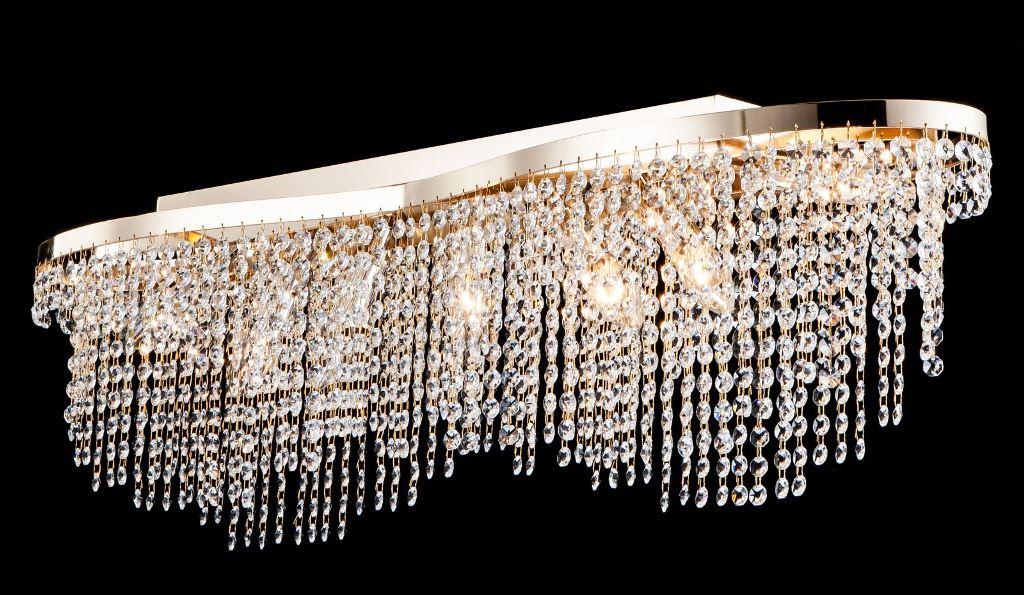 Люстра MaytoniЛюстры<br>Назначение светильника: для гостиной,<br>Стиль светильника: классика,<br>Тип: потолочная,<br>Материал светильника: металл, стекло,<br>Материал арматуры: металл,<br>Диаметр: 930,<br>Высота: 280,<br>Количество ламп: 7,<br>Тип лампы: накаливания,<br>Мощность: 60,<br>Патрон: Е14,<br>Цвет арматуры: золото,<br>Коллекция: dia601<br>