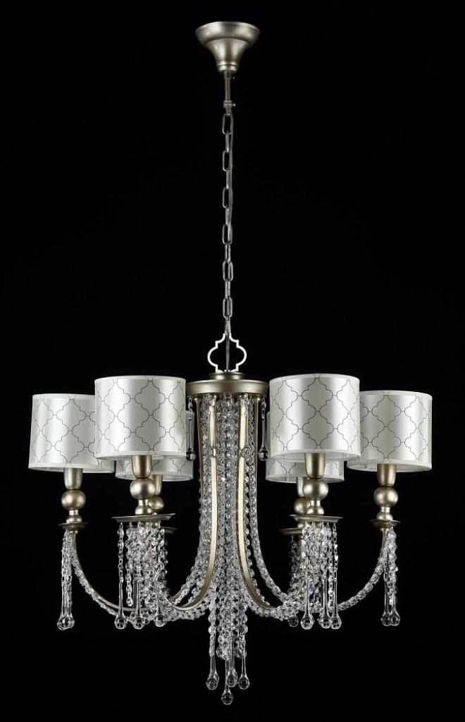 Люстра MaytoniЛюстры<br>Назначение светильника: для гостиной,<br>Стиль светильника: классика,<br>Тип: подвесная,<br>Материал светильника: металл, стекло,<br>Материал арматуры: металл,<br>Диаметр: 680,<br>Высота: 580,<br>Количество ламп: 6,<br>Тип лампы: накаливания,<br>Мощность: 60,<br>Патрон: Е14,<br>Цвет арматуры: золото<br>