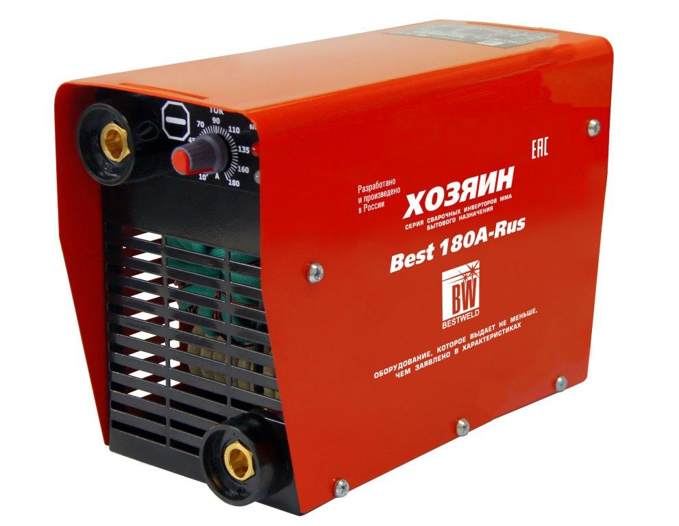 Сварочный аппарат BestweldСварочное оборудование<br>Макс. сварочный ток: 180,<br>Мощность полная: 6500,<br>Напряжение: 260,<br>Мин. входное напряжение: 185,<br>Напряжение холостого хода: 80,<br>Потребляемый ток: 28,<br>Мин. диаметр электрода: 1.6,<br>Макс. диаметр электрода: 4,<br>Тип сварочного аппарата: инверторный,<br>Инверторная технология: есть,<br>Поставляется в: коробке,<br>Степень защиты от пыли и влаги: IP 21,<br>Класс: бытовой,<br>Режим работы ПН %: 35<br>