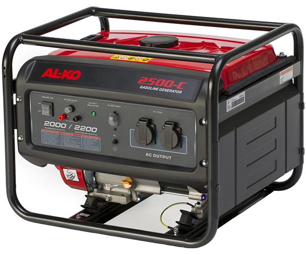 Генератор Al-koГенераторы (электростанции)<br>Полная мощность: 2.2,<br>Мощность активная: 2,<br>Рабочий объем: 196,<br>Бак: 15,<br>Время работы на полном баке: 14,<br>Вид топлива: бензин,<br>Назначение генератора: для основного электроснабжения,<br>Размеры: 480x590x430<br>