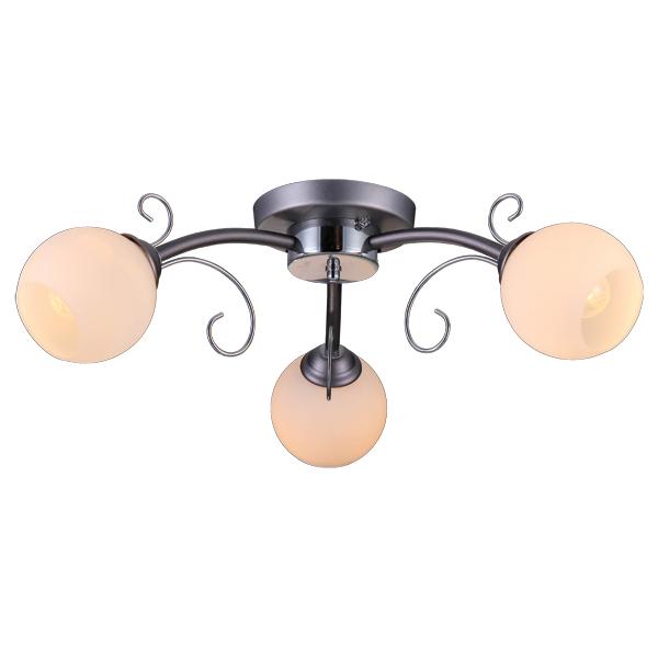 Люстра Natali kovaltsevaЛюстры<br>Назначение светильника: для гостиной,<br>Стиль светильника: хай-тек,<br>Тип: потолочная,<br>Материал светильника: металл, стекло,<br>Материал плафона: стекло,<br>Материал арматуры: металл,<br>Диаметр: 640,<br>Высота: 180,<br>Количество ламп: 3,<br>Тип лампы: накаливания,<br>Мощность: 60,<br>Патрон: Е14,<br>Цвет арматуры: хром,<br>Коллекция: серия 171<br>