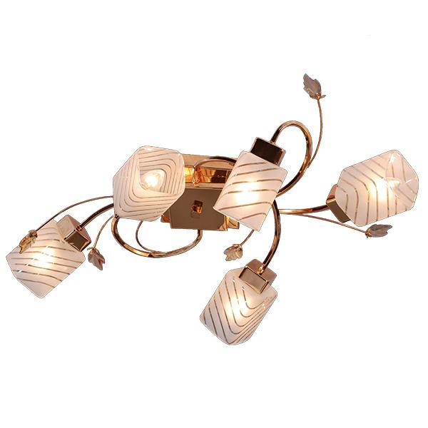 Люстра Natali kovaltsevaЛюстры<br>Назначение светильника: для гостиной,<br>Стиль светильника: классика,<br>Тип: потолочная,<br>Материал светильника: металл, стекло,<br>Материал плафона: стекло,<br>Материал арматуры: металл,<br>Длина (мм): 700,<br>Ширина: 390,<br>Высота: 180,<br>Количество ламп: 5,<br>Тип лампы: накаливания,<br>Мощность: 60,<br>Патрон: Е14,<br>Цвет арматуры: белый<br>