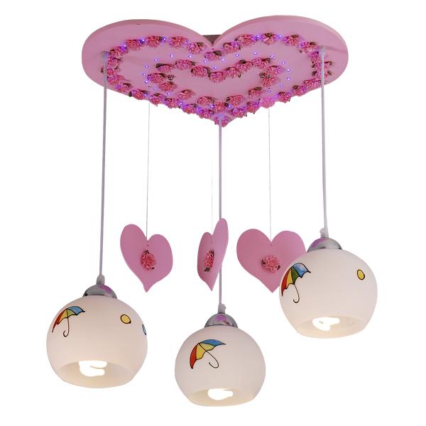 Светильник детский Natali kovaltsevaДетские светильники<br>Тип: настенно-потолочный, Форма/декор детского светильника: сердце, Цвет детского светильника: розовый, Материал светильника: металл, Количество ламп: 3, Мощность: 40, Тип лампы: накаливания, Патрон: Е27, Размеры: 450х430х600, Коллекция: серия 67<br>