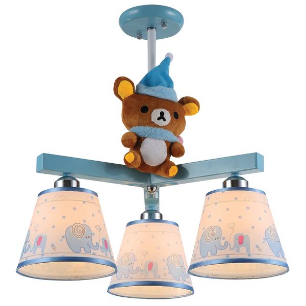 Светильник детский Natali kovaltsevaДетские светильники<br>Тип: настенно-потолочный,<br>Форма/декор детского светильника: медвежонок,<br>Цвет детского светильника: голубой,<br>Материал светильника: металл,<br>Количество ламп: 3,<br>Мощность: 40,<br>Тип лампы: накаливания,<br>Патрон: Е27,<br>Размеры: 400х400х560<br>
