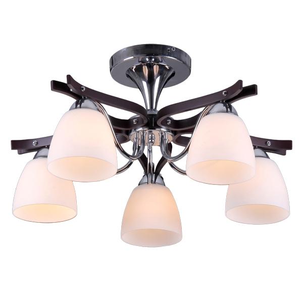 Люстра Natali kovaltsevaЛюстры<br>Назначение светильника: для гостиной,<br>Стиль светильника: модерн,<br>Тип: потолочная,<br>Материал светильника: металл, стекло,<br>Материал плафона: стекло,<br>Материал арматуры: металл,<br>Диаметр: 580,<br>Высота: 280,<br>Количество ламп: 5,<br>Тип лампы: накаливания,<br>Мощность: 60,<br>Патрон: Е27,<br>Цвет арматуры: хром<br>