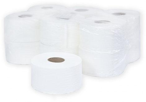 Бумага TeresАксессуары для ванной комнаты<br>Назначение аксессуара: комплект для туалета, Цвет покрытия: белый, Материал: целлюлоза, Высота: 190, Ширина: 95, Глубина: 190<br>