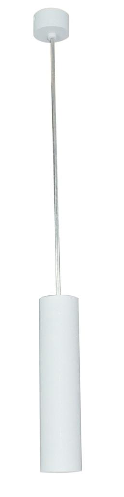 Подвес LamplandiaСветильники подвесные<br>Количество ламп: 1, Мощность: 50, Назначение светильника: подвесной, Стиль светильника: модерн, Материал светильника: металл, Высота: 56, Длина (мм): 56, Ширина: 240, Тип лампы: галогенная, Патрон: GU10, Цвет арматуры: белый, Коллекция: eye<br>