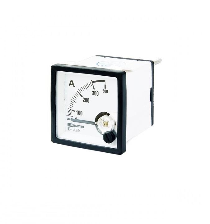 Амперметр ТДММультиметры (тестеры)<br>Тип: амперметр,<br>Класс: проф.,<br>Дисплей: стрелочный,<br>Измерение переменного тока: есть<br>