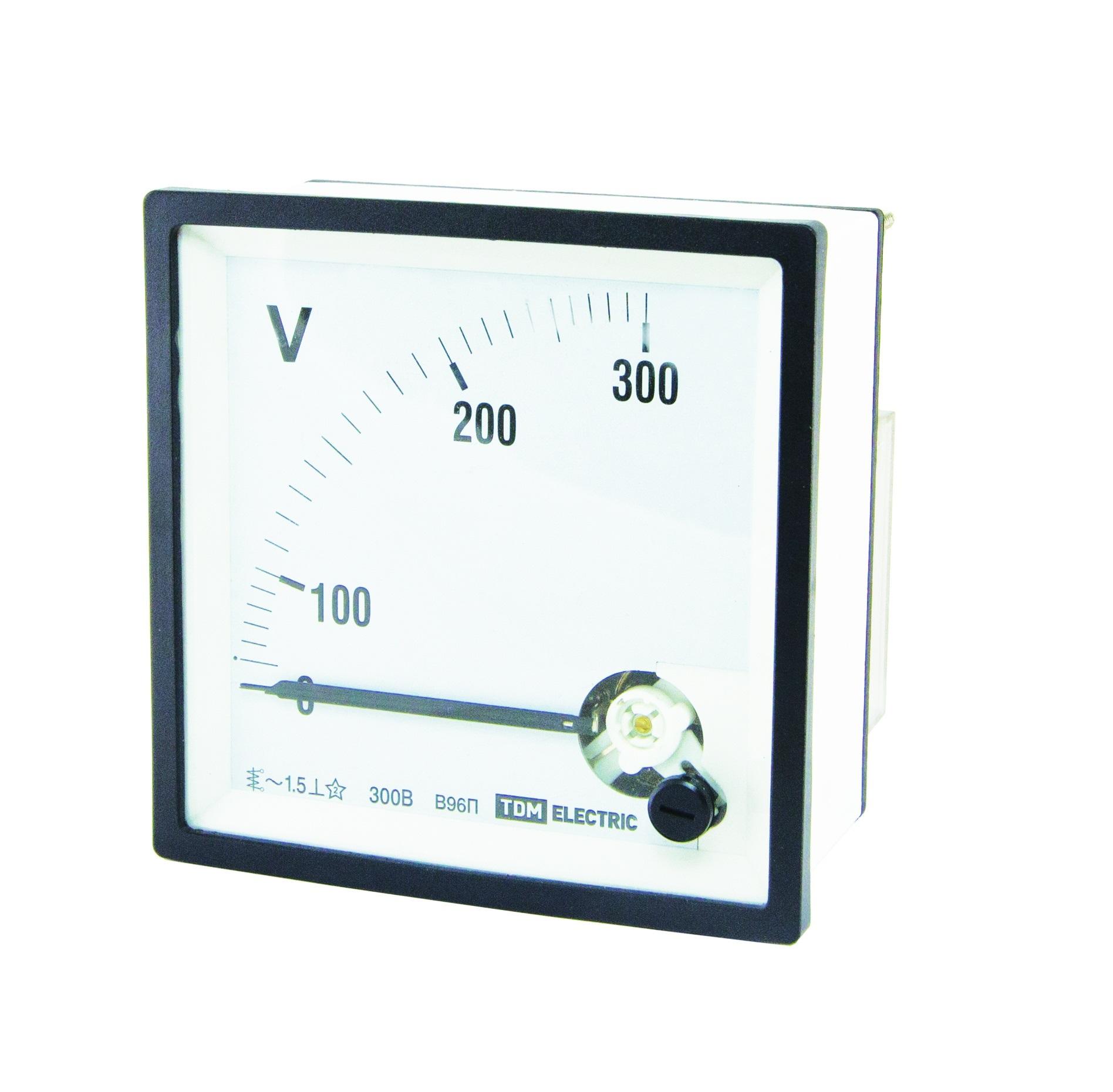 Вольтметр ТДММультиметры (тестеры)<br>Тип: вольтметр,<br>Класс: проф.,<br>Дисплей: стрелочный,<br>Измерение напряжения (постоянного/переменного): есть<br>