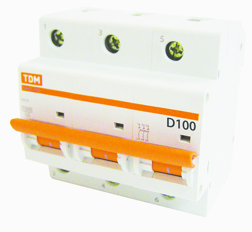 Автомат ТДМАвтоматические выключатели<br>Номинальный ток: 35, Тип выключателя: автомат, Номинальная отключающая способность: 10000, Степень защиты от пыли и влаги: IP 20<br>