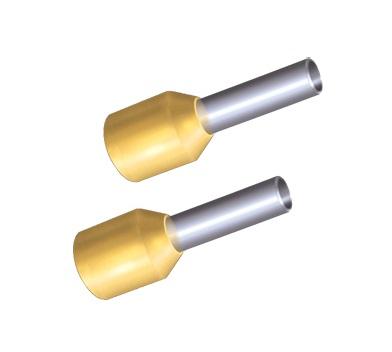 Наконечник ТДМЭлектроустановочные изделия<br>Тип изделия: наконечник, Цвет: желтый, Степень защиты от пыли и влаги: IP 30<br>