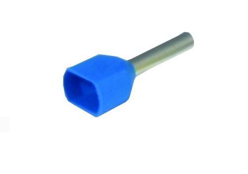 Наконечник ТДМЭлектроустановочные изделия<br>Тип изделия: наконечник,<br>Цвет: синий,<br>Степень защиты от пыли и влаги: IP 30<br>
