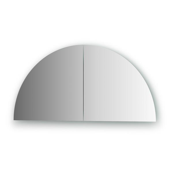 Зеркальная плитка EvoformЗеркала<br>Высота: 300,<br>Ширина: 300,<br>Форма зеркала: четверть круга,<br>Назначение: для ванной, прихожей, гостиной<br>