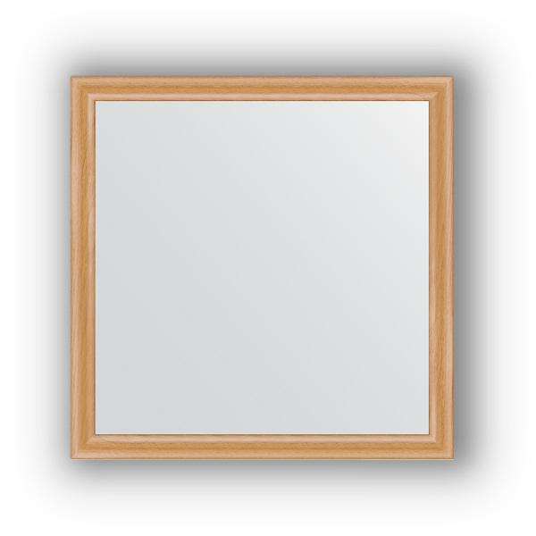 Зеркало EvoformЗеркала<br>Высота: 600,<br>Ширина: 600,<br>Форма зеркала: квадрат,<br>Назначение: для ванной, прихожей, гостиной,<br>Зеркало в багете: есть,<br>Цвет рамы: клен,<br>Коллекция: DEFINITE<br>
