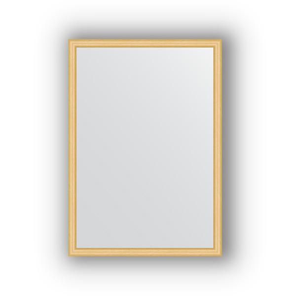 Зеркало EvoformЗеркала<br>Высота: 470, Ширина: 670, Форма зеркала: прямоугольник, Назначение: для ванной, прихожей, гостиной, Зеркало в багете: есть, Цвет рамы: сосна, Коллекция: DEFINITE<br>