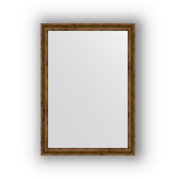 Зеркало EvoformЗеркала<br>Высота: 500,<br>Ширина: 700,<br>Форма зеркала: прямоугольник,<br>Назначение: для ванной, прихожей, гостиной,<br>Зеркало в багете: есть,<br>Цвет рамы: красная бронза,<br>Коллекция: DEFINITE<br>