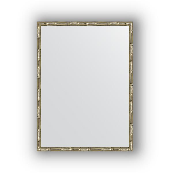 Зеркало EvoformЗеркала<br>Высота: 570,<br>Ширина: 770,<br>Форма зеркала: прямоугольник,<br>Назначение: для ванной, прихожей, гостиной,<br>Зеркало в багете: есть,<br>Цвет рамы: серебро бамбук,<br>Коллекция: DEFINITE<br>