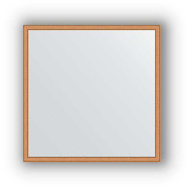 Зеркало EvoformЗеркала<br>Высота: 670,<br>Ширина: 670,<br>Форма зеркала: квадрат,<br>Назначение: для ванной, прихожей, гостиной,<br>Зеркало в багете: есть,<br>Цвет рамы: вишня,<br>Коллекция: DEFINITE<br>