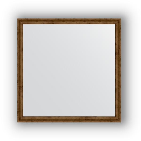 Зеркало EvoformЗеркала<br>Высота: 700,<br>Ширина: 700,<br>Форма зеркала: квадрат,<br>Назначение: для ванной, прихожей, гостиной,<br>Зеркало в багете: есть,<br>Цвет рамы: красная бронза,<br>Коллекция: DEFINITE<br>