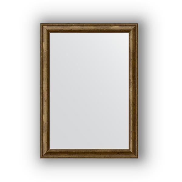 Зеркало EvoformЗеркала<br>Высота: 530, Ширина: 730, Форма зеркала: прямоугольник, Назначение: для ванной, прихожей, гостиной, Зеркало в багете: есть, Цвет рамы: сухой тростник, Коллекция: DEFINITE<br>